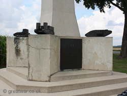 The Tank Corps Memorial, Pozieres.