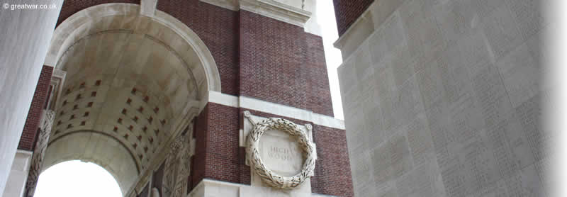 Thiepval Memorial to the Missing, Somme battlefields, France. The memorial commemorates 72,194 British and Commonwealth officers and men who have no known grave.