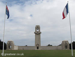 Australian Memorial to the Missing, Villers-Bretonneux.