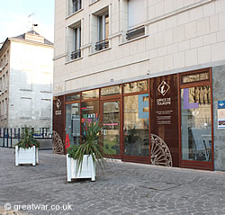 Tourist Office next to Amiens Cathedral.