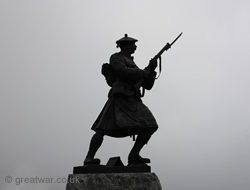 Black Watch Corner memorial.