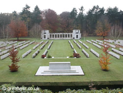 New Zealand Memorial at Buttes New Cemetery, Polygon Wood