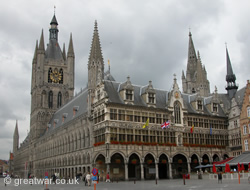 Cloth Hall (Lakenhalle), Ypres/Ieper