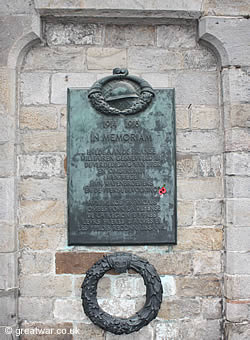 Ypres Memorial to Fallen French Heroes 1914-1918