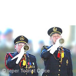 Ieper Buglers sounding Last Post