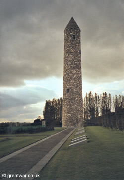 Island of Ireland peace tower