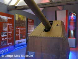 Lange Max Museum north of Ypres.