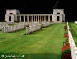 Buttes New British Cemetery (New Zealand) Memorial, Polygon Wood, Zonnebeke.