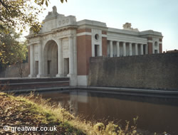 Menin Gate Memorial to the Missing, Ypres