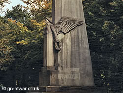 French memorial on the Kemmelberg (Mount Kemmel).