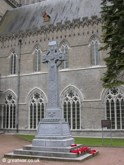 Munster War Memorial, Ypres.