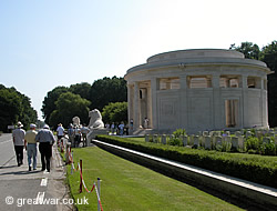 Tour to Ploegsteert Memorial, Belgium