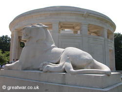 The Ploegsteert Memorial to the Missing.