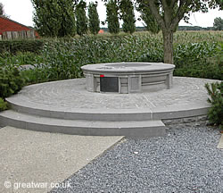 Monument to the Princess Patricia Canadian Light Infantry near Westhoek.