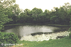 Spanbroekmolen Pool of Peace mine crater.