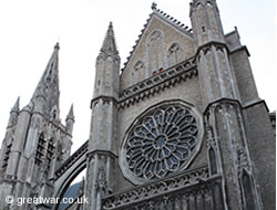 Rose Window Memorial at St. Martin's Cathedral, Ypres/Ieper