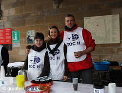 Volunteers from TOC H Belgium.