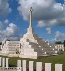 Tyne Cot Cemetery, Ypres Salient